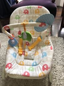 Cosatto Baby Bouncer with vibration option