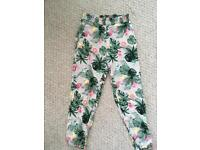 Girls summer trousers from H&M 5-6