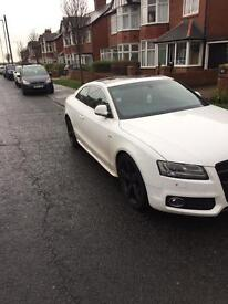 Audi A5 S5 2.0 211bhp panoramic sunroof rare sline
