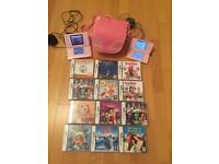 Nintendo DS and DS lite with games