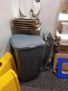 Rubbermaid 50 Gallon Roll-Out Bin - Only $99!