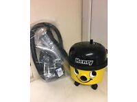 HENRY HOOVER IN YELLOW WITH NEW TOOL KIT