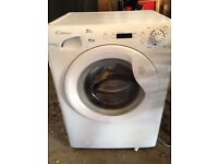 Candy washing machine. 8kg drum for lots of washing. Only used for 9 months. Good condition.