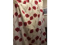 2 Pairs of Ponden Home Poppy Curtains