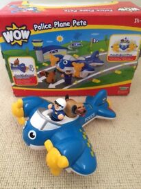 Wow - Police plane Pete set