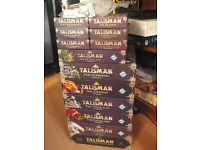 Talisman 4th edition base game + 12 expansions - all boxes 100% complete!