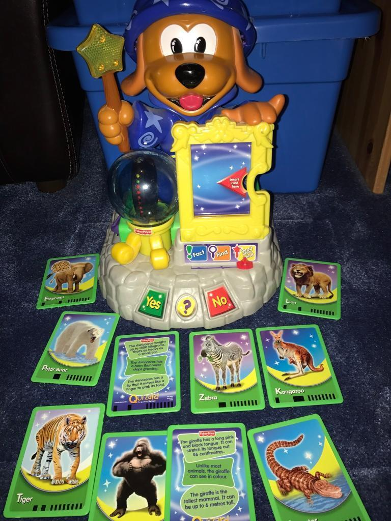 Fisher Price magician quizzer