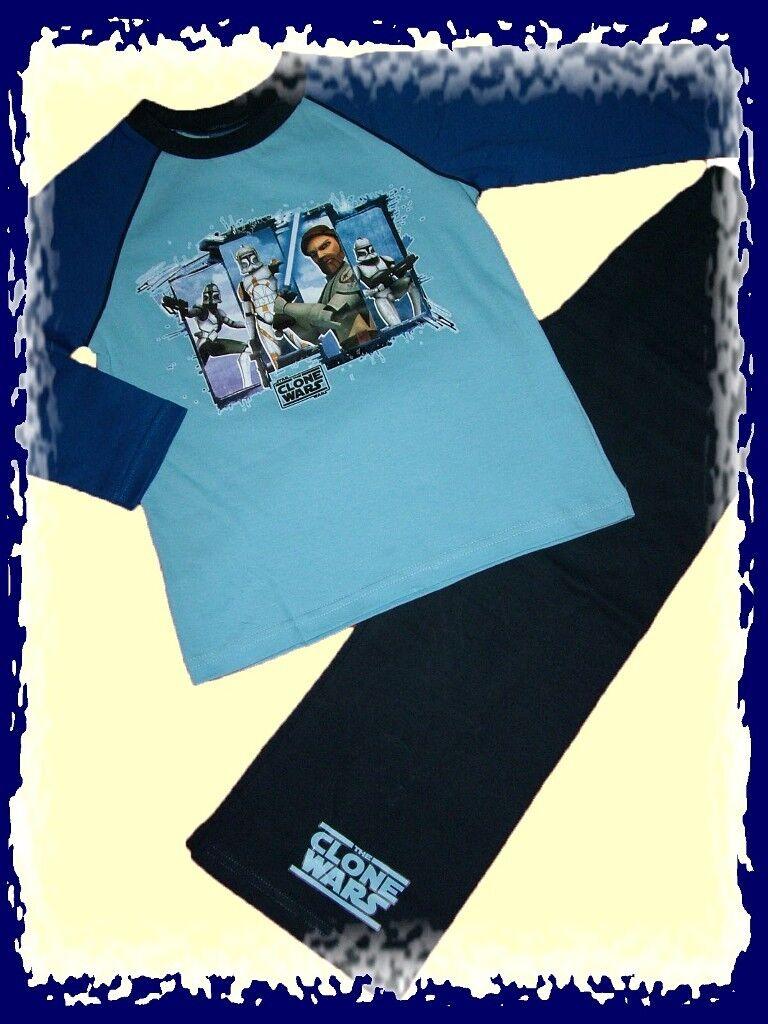 toller Schlafanzug  The Clone  STAR WARS  blau  104    NEU