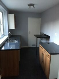 Two bedroom upstairs flat, North Shields . £450 per month