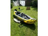 Kayak inflatable explorer k2