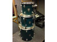 Sonor Sonic Plus (Bass drum, Hanging tom and floor tom) (jungle kit drums)
