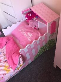 Dolls house toddler bed excellent condition