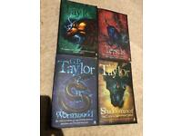 4 books by G P Taylor for age 10+