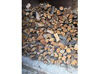 Dry Seasoned Logs For Sale