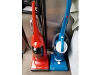 VACUUM CLEANERS. 2 X UPRIGHT BAGLESS £25 & 1 X STD £15