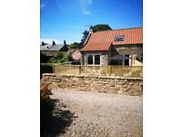 2 bedroom holiday cottage sleeps 4+1 in travel cot.