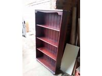 A Lovely Painted Pine Bookshelf