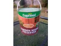 Garden wood preserver Cuprinol Golden Oak
