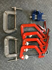 Clamps & small vice