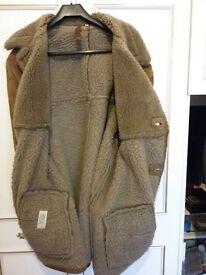 Gent's Sheepskin Coat Size 42 Good Condition