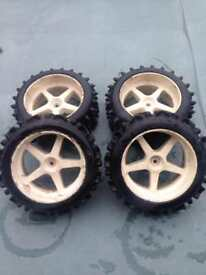 FG marder r/c car wheels