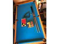 6 foot Folding Pool Table