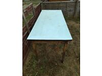 Free table to anyone who can collect