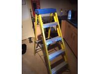 Brand new ! Fiberglass site steps