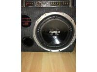 Sony Xplod 1200W Subwoofer IN BOX WITH 1000W Sony Xplod amp