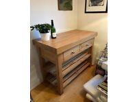 Cotswold Co. Oak Kitchen Island / dresser