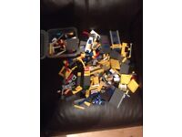 Lego city police boat,Lego, Lego minitarus game, and two large Lego books, see pictures .