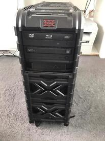 """Gaming/multimedia PC with Asus 23 """" Full HD monitor"""