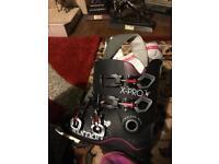 Salomon x-pro 80 women's ski boots.