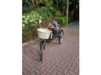 Jorvik vintage electric tricycle