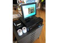 EPOS NOW Touch Screen Terminal, Till Drawer & Printer