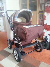 kaps city stroller/pushchair