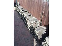 600 Marley Anglia granular brown roof tiles