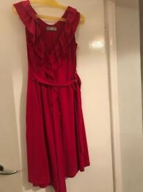 Wallis red dress size 10 for sale in Chard