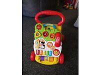 Vtech baby walker in box