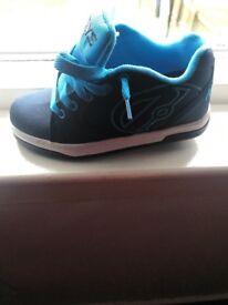 Boys blue heelies size 1