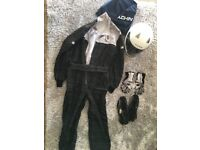 Racing Suit, Gloves, Boots, Helmet - KARTING - GoKart starter kit.