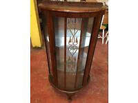 1950's Mirrored Display Cabinet