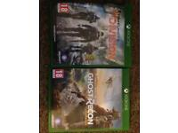 Ghost Recon Wildlands and The Division for sale