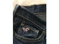Hollister size 8 ladies bootcut jeans