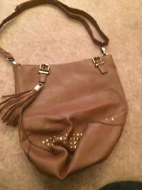Brown leather bad
