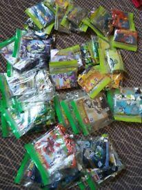 45 sets of Lego mixeles sets .