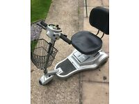 road knight mobility scooter light weight spares or repairs see description