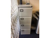 1 x Filing cabinet with key