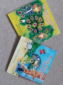 My itsy bitsy spider and my little ladybirds books