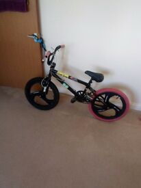 For sale mongoose bmx with mag wheels